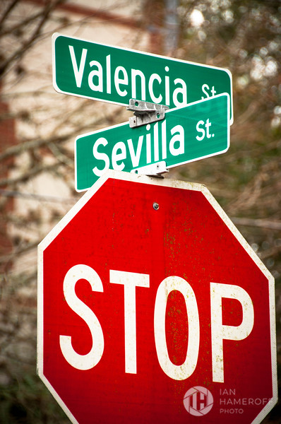 Stop Where Valencia Crosses Sevilla
