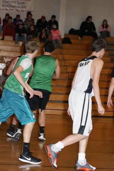 2014-15 HS basketball vs Rattan 345