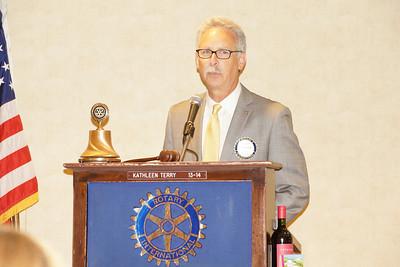 2014 - 15 Rotary Year - Geoff Bremer President
