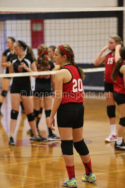 McDowell Volleyball v Circleville