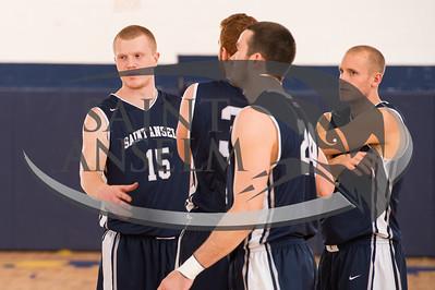 Men's Basketball at Merrimack (11/25/14) Courtesy Jim Stankiewicz
