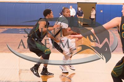 Men's Basketball vs. Le Moyne (1/21/15) Courtesy Jim Stankiewicz