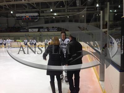 Men's Ice Hockey Senior Day vs. Southern Maine (2/13/15)