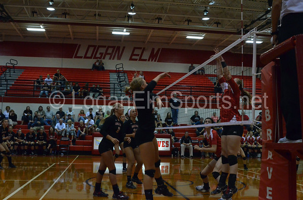 Volleyball v Circleville Home