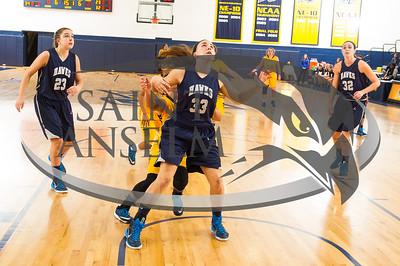 Women's Basketball at Merrimack (11/25/14) Courtesy Jim Stankiewicz