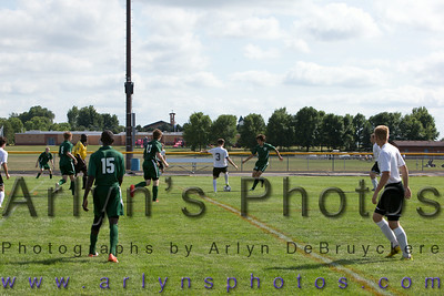 Hutch Boys Soccer vs East Grand Forks