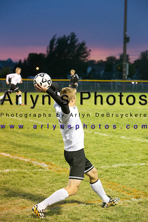 Hutch Boys Soccer vs New Prague