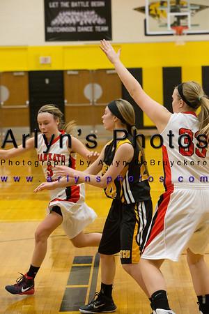 Hutchinson Girls Basketball vs Mankato West