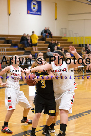Hutch Girls Basketball vs Annandale