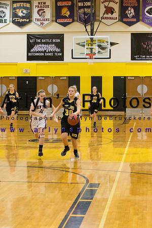 Hutch Girls Basketball vs New Prague
