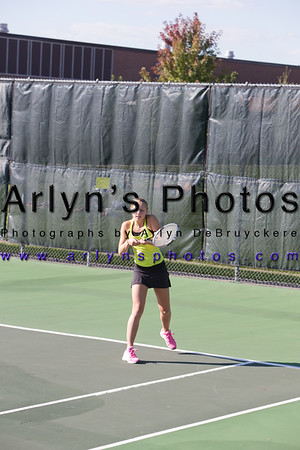 Hutch Girls Tennis 9-15-14