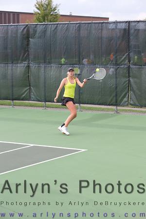 Hutch Girls Tennis vs New Prague
