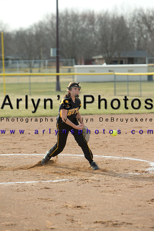 Hutch Softball vs LPHT