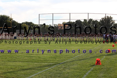 Football vs Mankato Loyola Sept 5, 2014