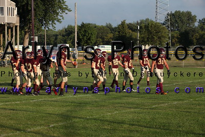 Football vs St Clair Aug 22, 2014