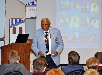 Former Tuskegee Airman Dr. Eugene Richardson