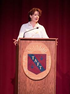 Marya Hornbacher visits Taft