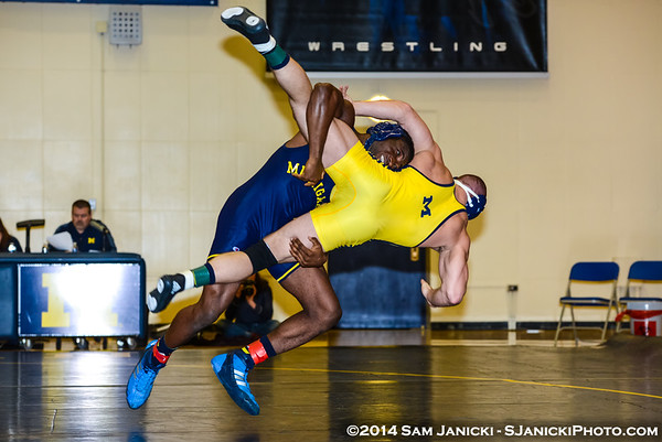 Michigan Varsity Wrestling - Pre Fall 2014