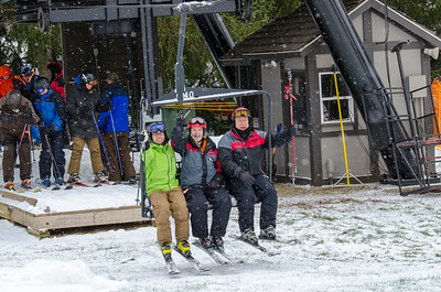 First Chair of 2014-15 Winter Season at Snow Trails!! #SnowTrailsOH