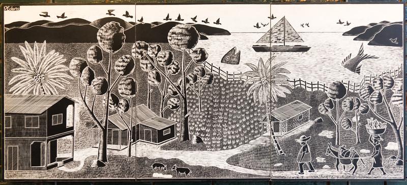 Haitian Art Exhibit