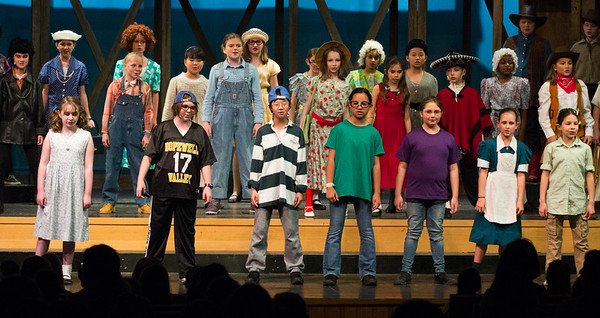 Lower School Musical: Night at the Wax Museum
