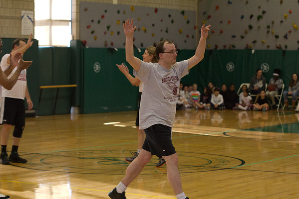 Varsity Basketball vs. Parents