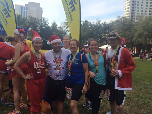 2014 Fort Lauderdale Jingle Bell 5K 12/21/14