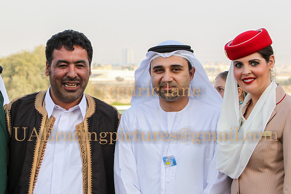 Horse Racing Jebel Ali, Dubai, United Arab Emirates 6th Febrary 2015