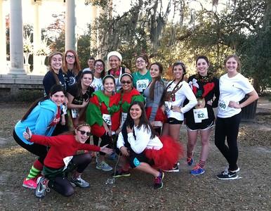 Christmas in the Oaks Run