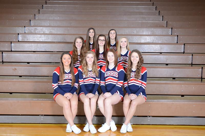 Cheerleaders - Junior Varsity