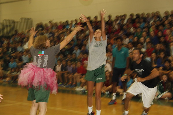 MS Faculty Student Basketball Game