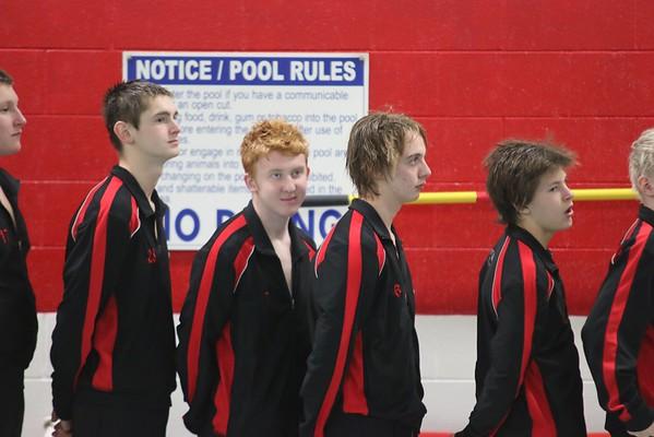 Mens Swimming 2015