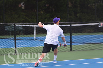 3-25-15 Asheboro vs Western Guilford Tennis