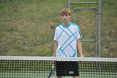 4/13/15 Trinity v Providence Grove Boys Tennis
