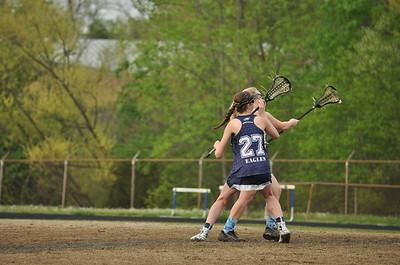 4/17/15 Ragsdale v East Forsyth Girls Lacrosse