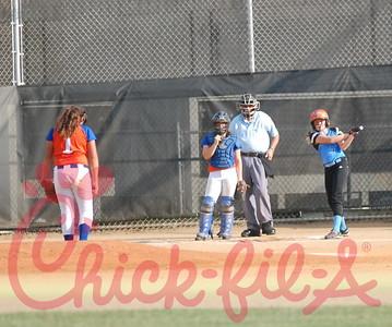 Middle school softball 2014