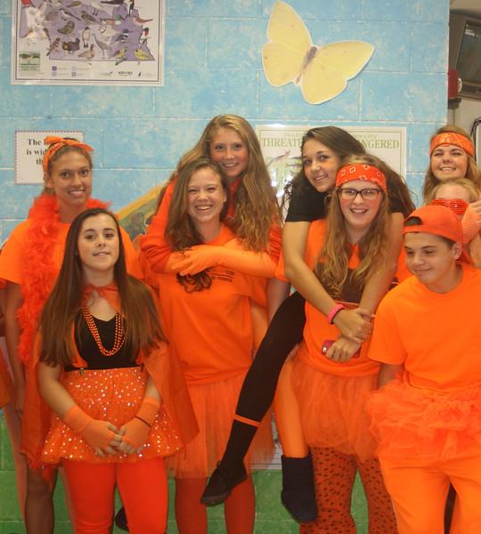 Orange day 1