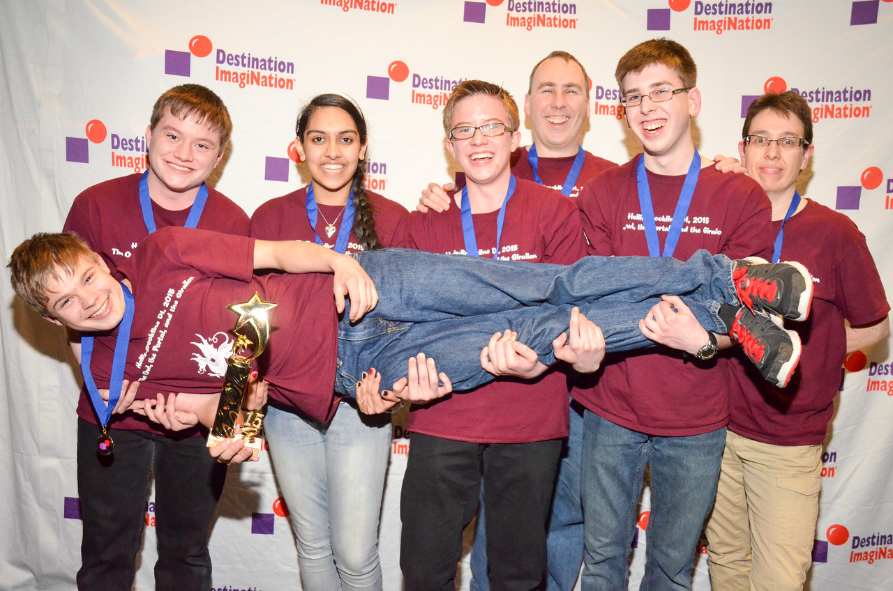 Hollis Brookline DI , Hollis , Technical Challenge: Creature Feature , secondary , 130-87401, First Place.