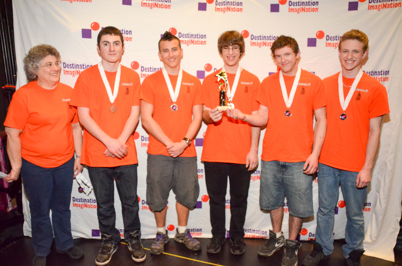 Mascoma Valley Regional HS , Enfield , Technical Challenge: Creature Feature , secondary , 130-18657, Third Place. This is advancing to Global Finals.