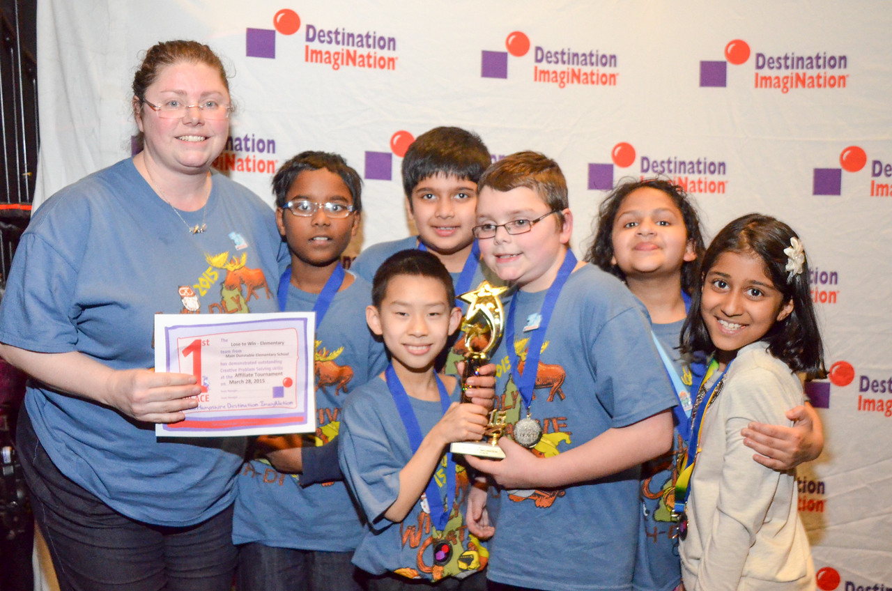 Main Dunstable Elementary School , Nashua , Structural Challenge: Lose to Win , elementary , 130-80879, First Place.