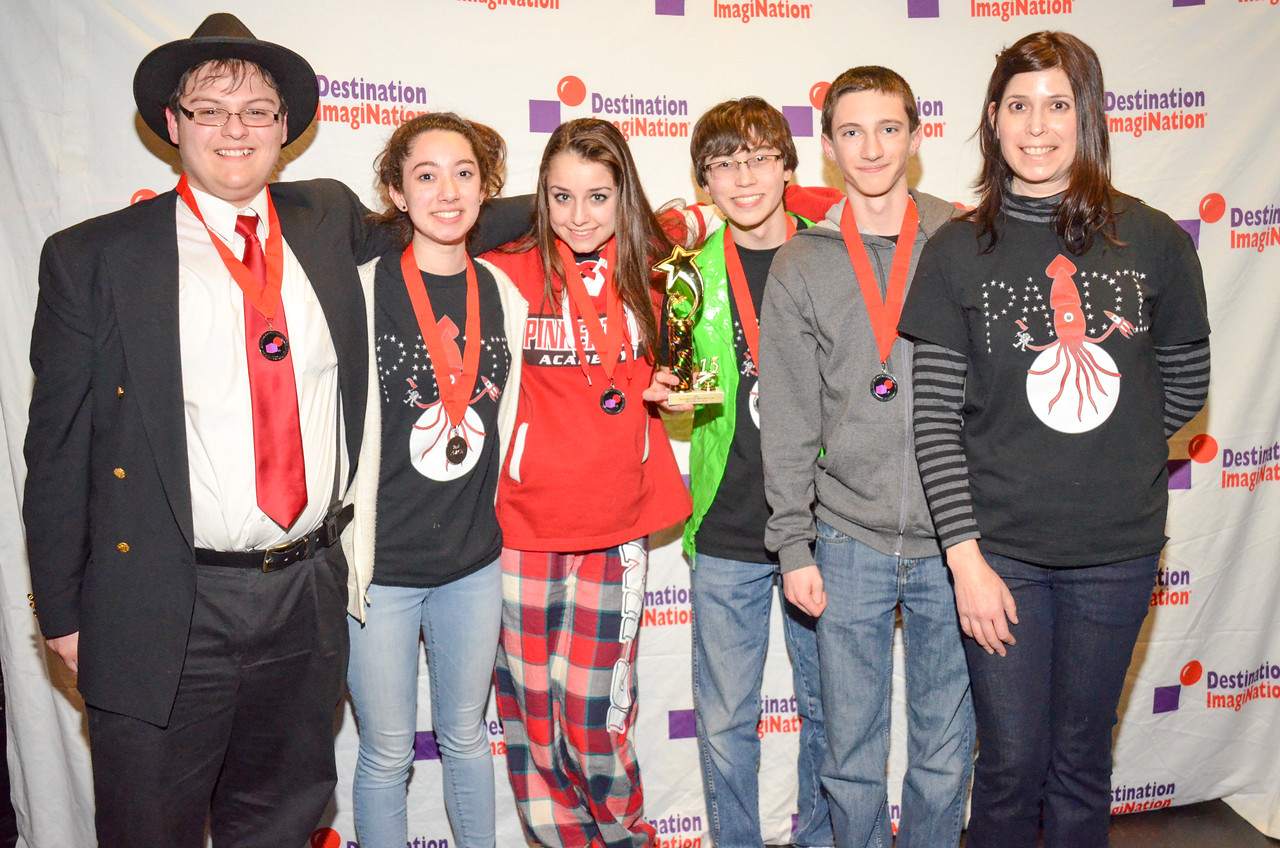 Pinkerton Academy , Derry , Scientific Challenge: Making Waves , secondary , 130-01743, second place.