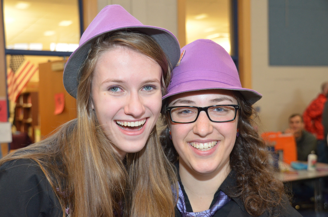 Anna Giles and Amanda Kabel are announced as NH-DI Scholarship Winners for 2015. Both from Hollis-Brookline, Ms. Kabel was awarded the Marj Allen Scholarship, in memory of our friend, fellow board member and team manager. This was awarded earlier in the day as both had senior events during the evening awards ceremony. Congratulations!