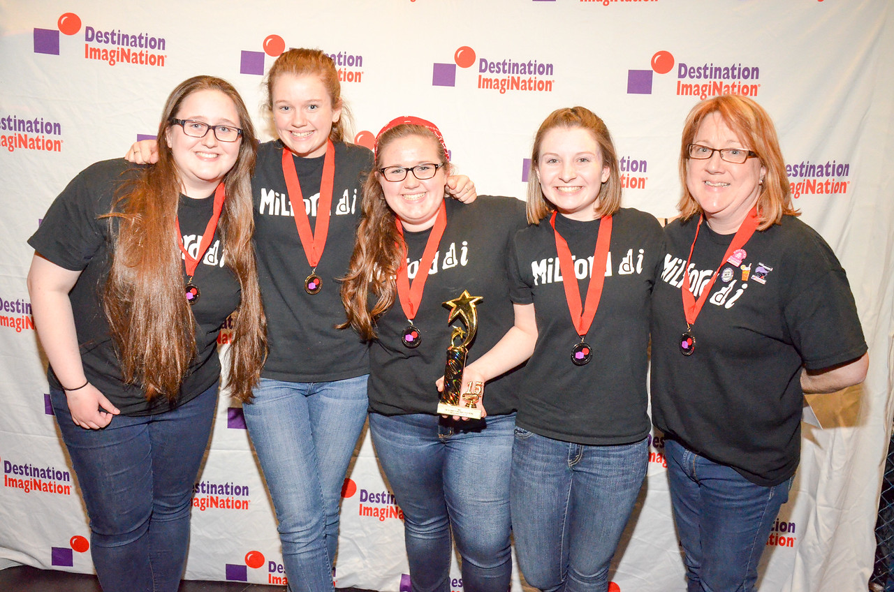 Milford High School , Milford , Technical Challenge: Creature Feature , secondary , 130-29874, Second Place.