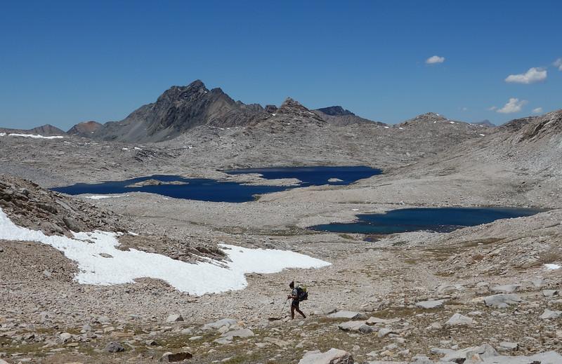 Wanda Lake on the way up to Muir Hut
