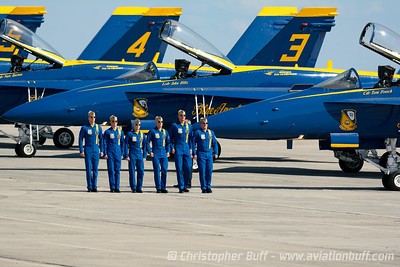 Blues Walkdown - Christopher Buff, www.Aviationbuff.com