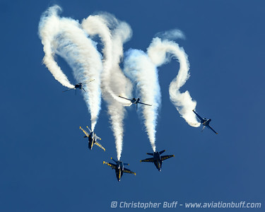 Angels in the sky - By Christopher Buff, www.Aviationbuff.com