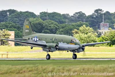 C-46 Tinker Belle  - By Christopher Buff, www.Aviationbuff.com