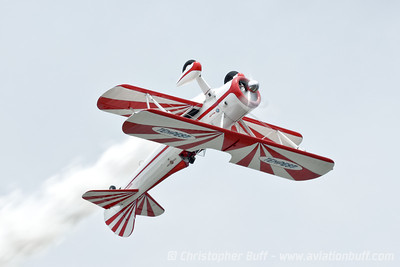 Gary Rower Over The Top  - By Christopher Buff, www.Aviationbuff.com