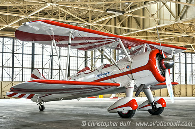Gary Rower's Stearman  - By Christopher Buff, www.Aviationbuff.com