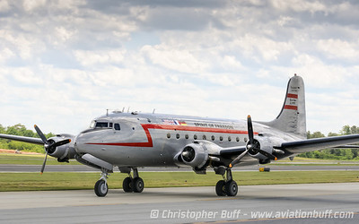 Douglas C-54 Spirit of Freedom  - By Christopher Buff, www.Aviationbuff.com